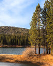 Lake hume landscape in sequoia and kings canyon national park california Stock Images
