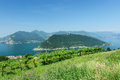 Lake Iseo in Brescia, Italy Royalty Free Stock Photo