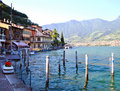 Lake Iseo, Italy Stock Photography
