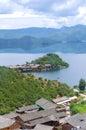 Lake island Stock Images