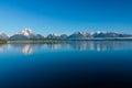 Lake Jackson in Wyoming Royalty Free Stock Photo