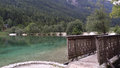 Lake jasna in kranjska gora Stock Photography
