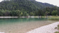 Lake jasna in kranjska gora Royalty Free Stock Photos