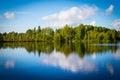 The lake in Karelia