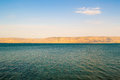 Lake kinneret israel also know as the sea of galilee place where jesus walked on water travel Stock Photography