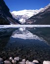 Lake louise alberta canada Images libres de droits