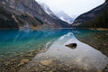 Lake louise in Banff National park Royalty Free Stock Photos