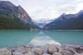 Lake louise in banff national park alberta canada Royalty Free Stock Image