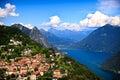 Lake Lugano Royalty Free Stock Photo