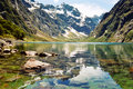 Lake Marian, New Zealand Royalty Free Stock Photo
