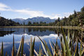 Lake Matheson, South Island, New Zealand Stock Photo