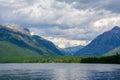 Lake McDonald in Glacier National Park, Montana Royalty Free Stock Photo