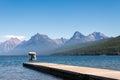 Lake mcdonald montana usa september view of lake mcdonal in on Royalty Free Stock Photos