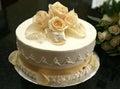 Malé svatební dort