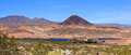 Lake mead recreation area in nevada Stock Images