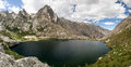 Lake melo in corsica montains Stock Photography
