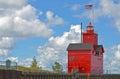 Lake Michigan Harbor Royalty Free Stock Photo