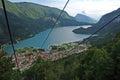 Lake Molveno Stock Images