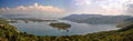 Lake in monte negro slasko Royalty Free Stock Photos