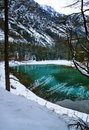 Lake in mountains. Royalty Free Stock Photography