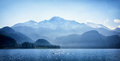 Lake and mountains in austria Royalty Free Stock Images
