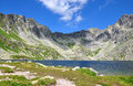 Lake and mountains High Tatras, Slovakia, Europe