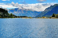 Lake Nahuel Huapi Royalty Free Stock Photo