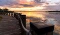 Lake Norman, North Carolina Sunset 2 Royalty Free Stock Photo