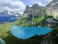 Lake O'Hara, Yoho National Park, Canada Royalty Free Stock Photo