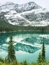 Lake o hara yoho national park canada british columbia Stock Images