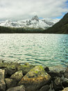 Lake o hara yoho national park canada british columbia Royalty Free Stock Photos