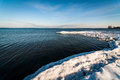 Lake Ontario in Winter Royalty Free Stock Images