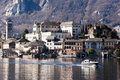 Lake Orta famous landscape Royalty Free Stock Photo