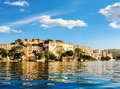 Lake Pichola and City Palace in Udaipur. India. Royalty Free Stock Photo