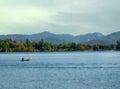 Lake placid new york view of Royalty Free Stock Photos