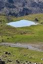 Lake Plan Borgno Royalty Free Stock Photo