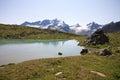 Lake Plan Borgno Stock Photo