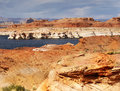 Lake Powell, Glen Canyon Royalty Free Stock Photo