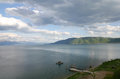 Lake prespa macedonia picture of a great Royalty Free Stock Photo