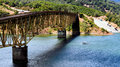 Lake Sonoma Bridge Royalty Free Stock Photo