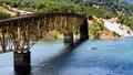 Lake Sonoma Bridge Royalty Free Stock Photo