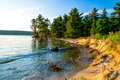 Lake Superior Coast Royalty Free Stock Photo