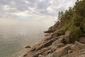 Lake Superior Coastline Royalty Free Stock Photo