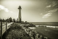 Lake Superior Lighthouse Royalty Free Stock Photo