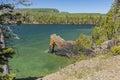 Lake Superior Rock Arch Royalty Free Stock Photo