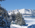 Lake Tahoe in Winter 2 Stock Image