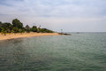 Lake tanganyika in burundi Royalty Free Stock Photo