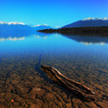 Lake te anau south island new zealand Stock Photo