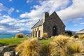 LAKE TEKAPO , New Zealand Royalty Free Stock Photo