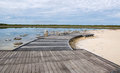 Lake Thetis Observation Deck Royalty Free Stock Photo